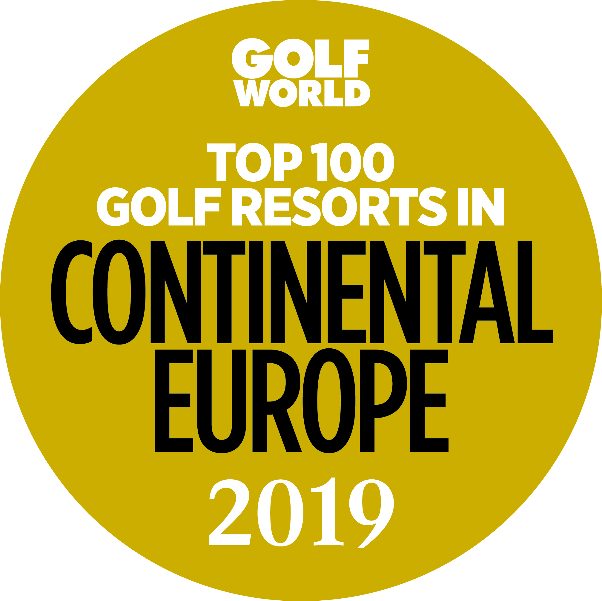 Top 100 resorts gold 2019